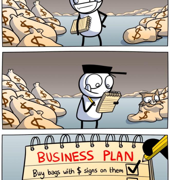 My plan to get rich!