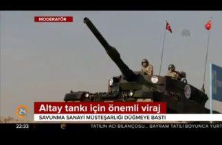 Savunma Sanayi, Altay tankı için düğmeye bastı