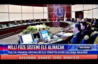 SAVUNMA SANAYİ İCRA KOMİTESİ KRİTİK TOPLANTI S400 GELİYOR