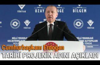 Cumhurbaşkanı Erdoğan'dan Milli Hava Füze Savunma Sistemi Müjdesi!
