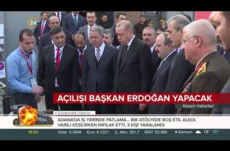 Ankara'da düzenlenecek Savunma Sanayi Zirvesi'nin açılışını Başkan Erdoğan yapacak