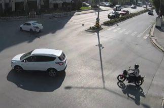 Eskişehir'de trafik kazaları MOBESE kameralarında 2018
