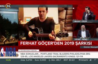 Ferhat Göçer'den yeni yıl şarkısı