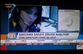 Turan Oğuz ( @TRex_SSS ) Savunma Sanayi Zirvesi hakkında EKOTURK TV'ye konuştu.