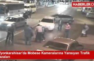 Afyonda inanılmaz trafik kazaları
