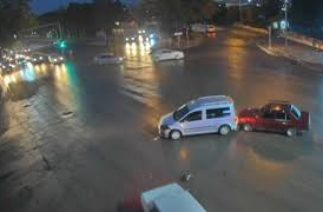 Elazığ'da 2017 Trafik Kazası Görüntüleri