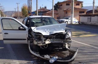 Kocaeli'deki trafik kazaları MOBESE'ye yansıdı
