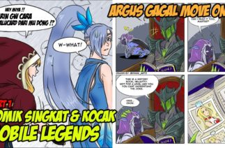 Komik Lucu Mobile Legends, Miya, Zilong & Argus FansArt – Part 1