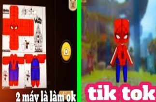 [Miniworld] tik tok mini world p24 ko cần máy in 🖨