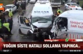 Murat Onur A Haber – ATV – TOKAT NİKSAR TRAFİK KAZASI
