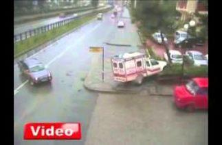 Rize Mobese Trafik Kazaları