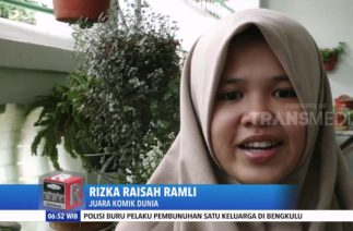 Siswi SMA Asal Makassar JUARA KOMIK DUNIA Unicef