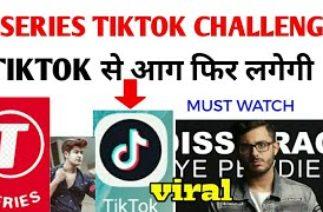 T-series Tiktok challenge   Tiktok से फिर से आग लगेगी   pewDiePie vs Tseries