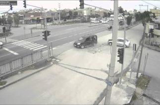 Tarsus'ta Trafik Kazaları Mobese Kameralarına Yansıdı–tarsusmedya.com