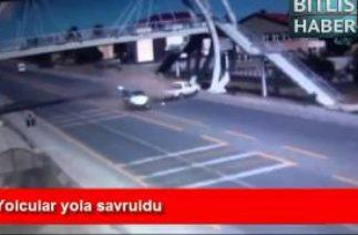Tatvan'da ki Trafik Kazaları Mobese Görüntüleri 2014