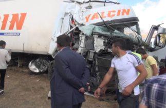 Tatvan'da trafik kazası 1 can aldı