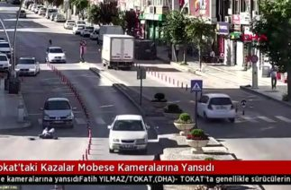 Tokat Mobese Kameralarına Yansıyan Trafik Kazaları 2018