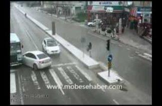 Yalova Mobese Kameralarına Takılan Trafik Kazaları