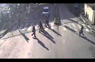Zonguldak yaşanan trafik kazaları mobese kameralarına işte böyle yansıdı…