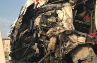 Ölümlü tır ve kamyon trafik kazaları