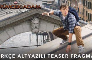Örümcek-Adam: Evden Uzakta / Spider-Man Far From Home Türkçe Altyazılı Teaser Fragman