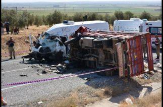 Gaziantep'te trafik kazası: 7 ölü, 19 yaralı