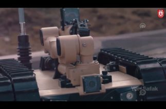 TÜRKİYE'NİN ROBOT ASKERLERİ SAHAYA ÇIKTI ( yerli üretim savunma sanayi )