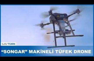 Türk savunma sanayi şirketi, makineli tüfek taşıyan İHA üretti