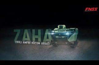 FNSS ZAHA/ZIRHLI AMFİBİ HÜCUM ARACI -SAVUNMA SANAYİ