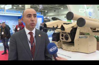 Türk şirketleri Ukrayna'daki savunma sanayi fuarına damga vurdu