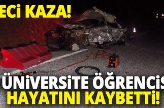 Aydın Karacasu'da Trafik Kazası, 3 Üniversite Öğrencisi Hayatını Kaybetti