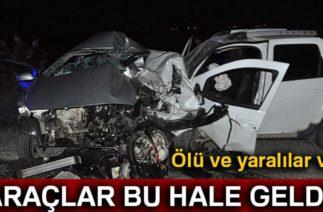 Batman'da Trafik Kazası, İki Otomobil Çarpıştı: 1 Ölü, 4 Yaralı
