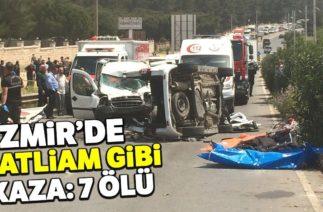 Buca'nın Kaynaklar Bölgesinde Trafik Kazası: 7 Ölü