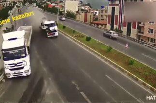 Eski Mobese Kazalarından Derlemeler – Mobese Trafik Kazaları Görüntüleri