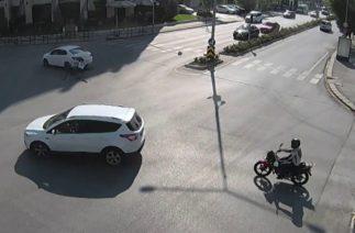 Eskişehir trafik kazaları MOBESE kayıtları