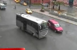 Rize'de Böyle Olur Trafik Kazası