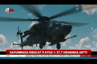 Savunma Sanayinde Büyük Yükselme! Savunmada İhracat 9 Ayda %37.7 Oranında Arttı!