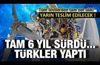 """%100 Yerli İHA Motoru """"PD-170"""" Yarın TUSAŞ'a Teslim Ediliyor / Savunma Sanayi 2020"""