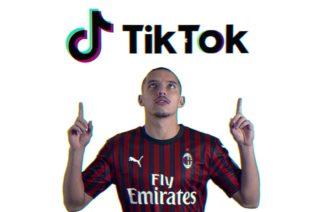 AC Milan is on TikTok