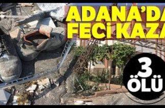 Adana Ceyhan'da Trafik Kazası, Ölü ve Yaralılar Var