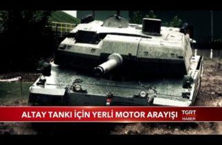 Altay Tankı İçin Yerli Motor Arayışı