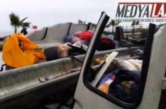 Ardeşen de feci Trafik Kazası: 1 Ölü,1 Yaralı