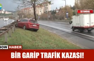 Bir garip trafik kazası!