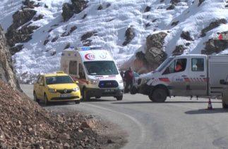 Bitlis'te trafik kazası Bir ölü 6 yaralı
