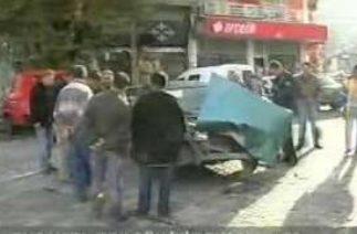 Bucakta trafik kazaları