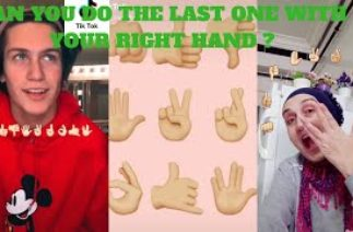 Danila Carvalho ~ La La La (TiK TOK Challenge) Can You Do The Last One With The Right Hand ?
