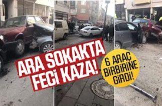 FECİ TRAFİK KAZASI!