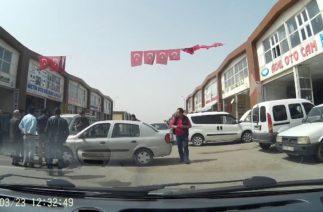 Gaziantep Mavikent Oto Sanayi Sitesi Trafik Kazası