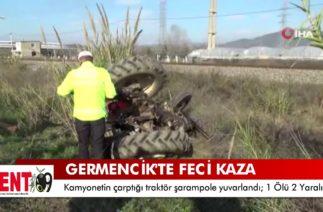 Germencik'te trafik kazası