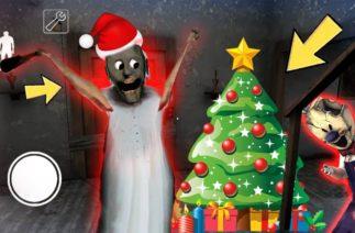 Granny vs Aliashraf funny animation part 56 : Ice Scream, Mr Meat, Baldi : Christmas
